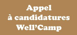 Appel à candidature : Well'Camp (été 2018).