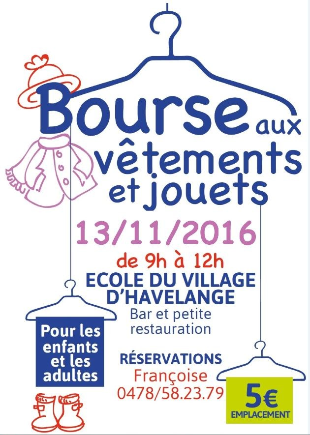 bourse aux vetements et jouets eco vil havel 13112016 flyer web