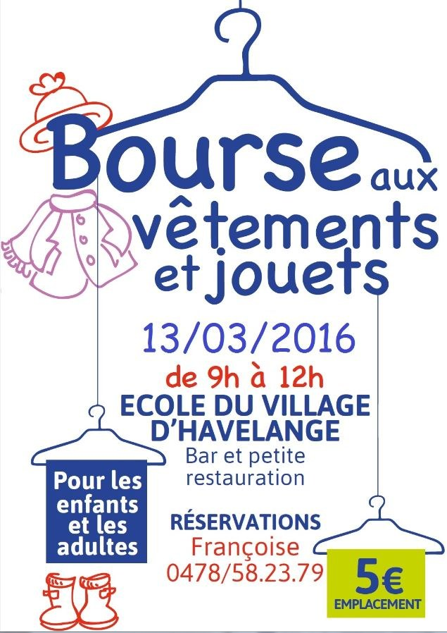 bourse vetements EVHA 16032016