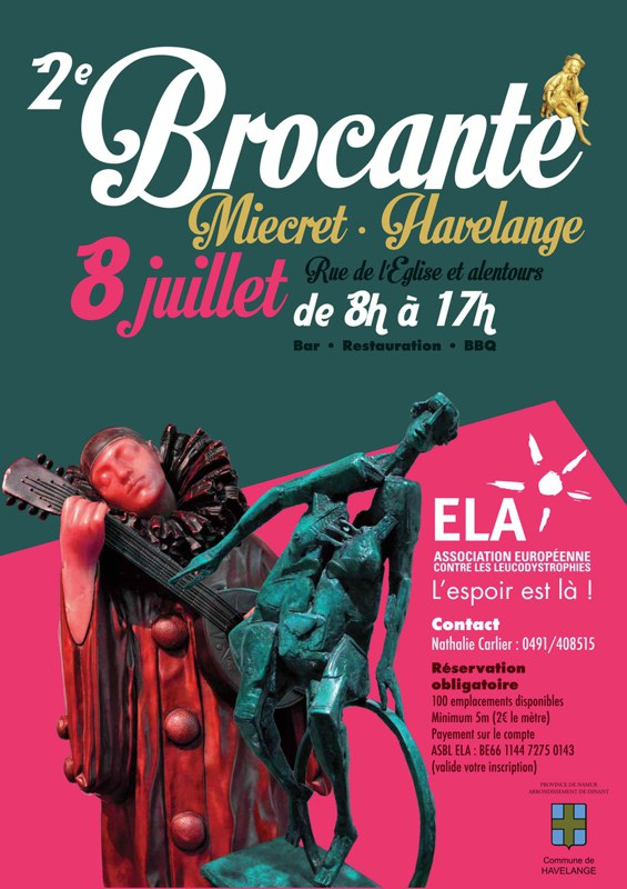 Brocante ELA Be 2018 flyer web