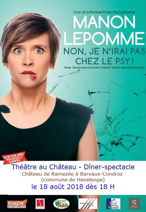 Lepomme Manon theatre rotary 18082018 flyer web