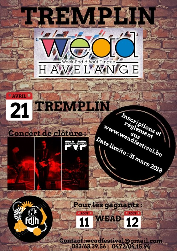 tremplin WEAD 21042018 flyer web