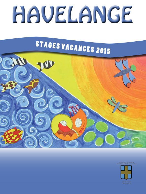 feuillet stages vacances 2015 2nd cover
